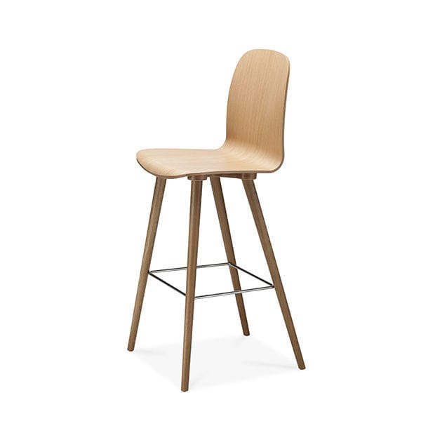 Superb Scandinavian Design Bar Chair / Upholstered / FSC Certified / Beech   BOSTON  By Erik Jørgensen