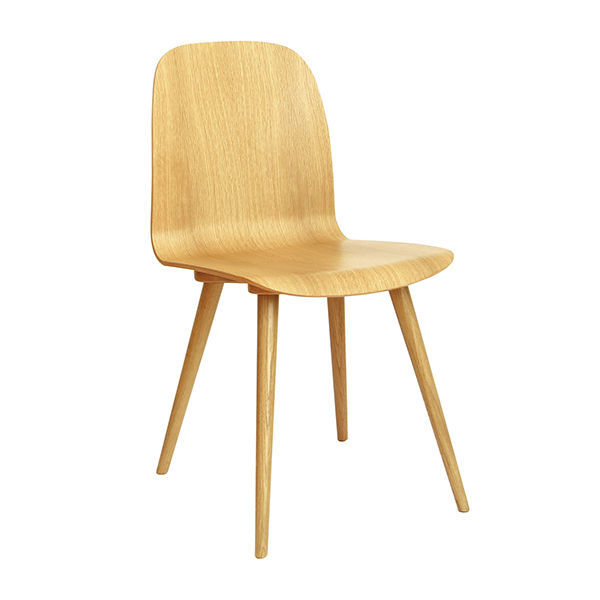 Elegant ... Scandinavian Design Chair / With Armrests / Upholstered / Fabric