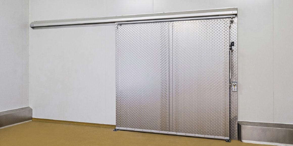 Etonnant ... Sliding Industrial Door / Metal / Insulated / For The Food Industry ...