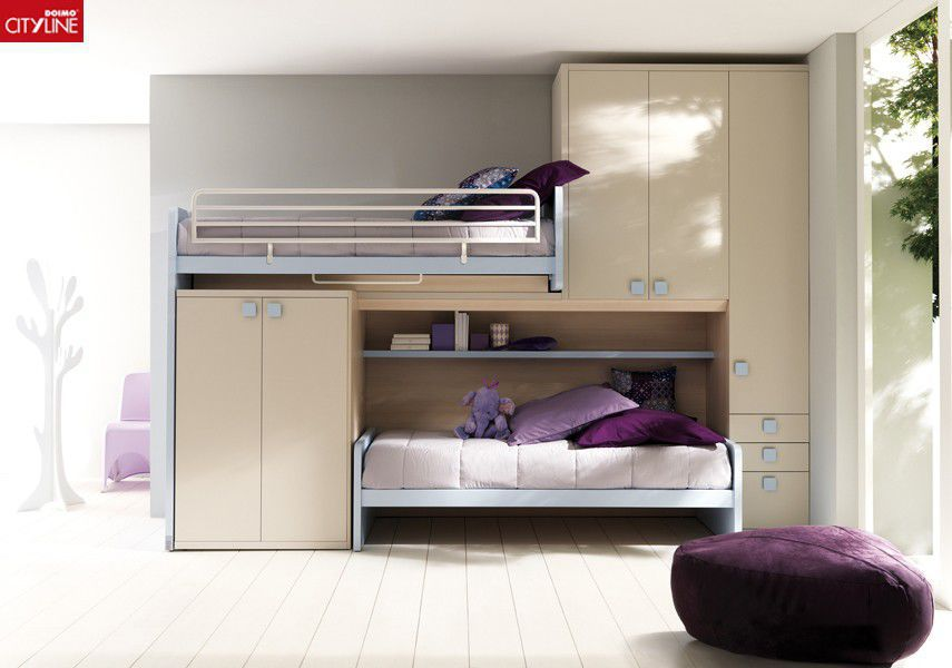 bunk bed single with wardrobe 408 b moving