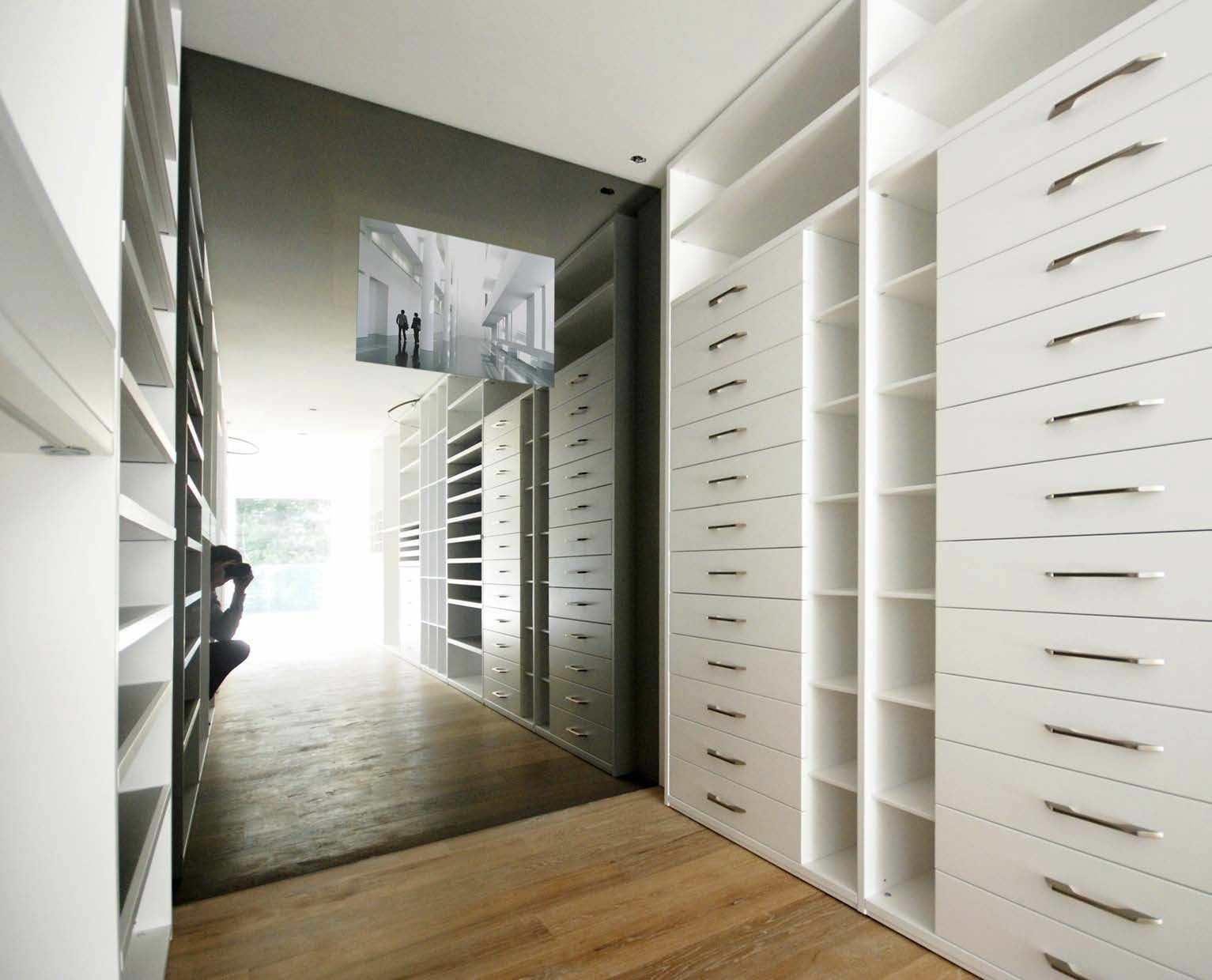 Wall-mounted TV mirror / living room / Baroque / rectangular - Raymura