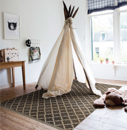 Contemporary rug / patterned / vinyl / wool - SUZANNA – SU1 - BEIJA FLOR
