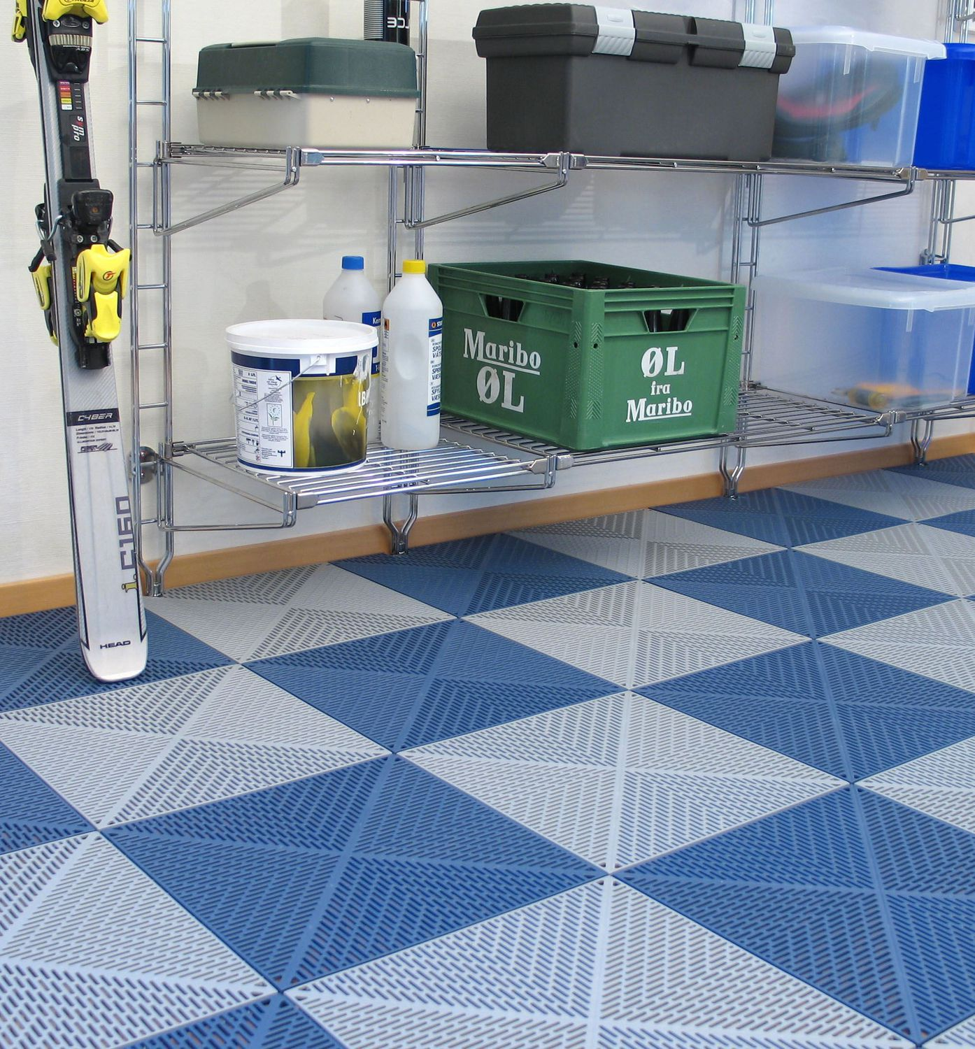 Plastic deck board - BERGO UNIQUE - Bergo flooring