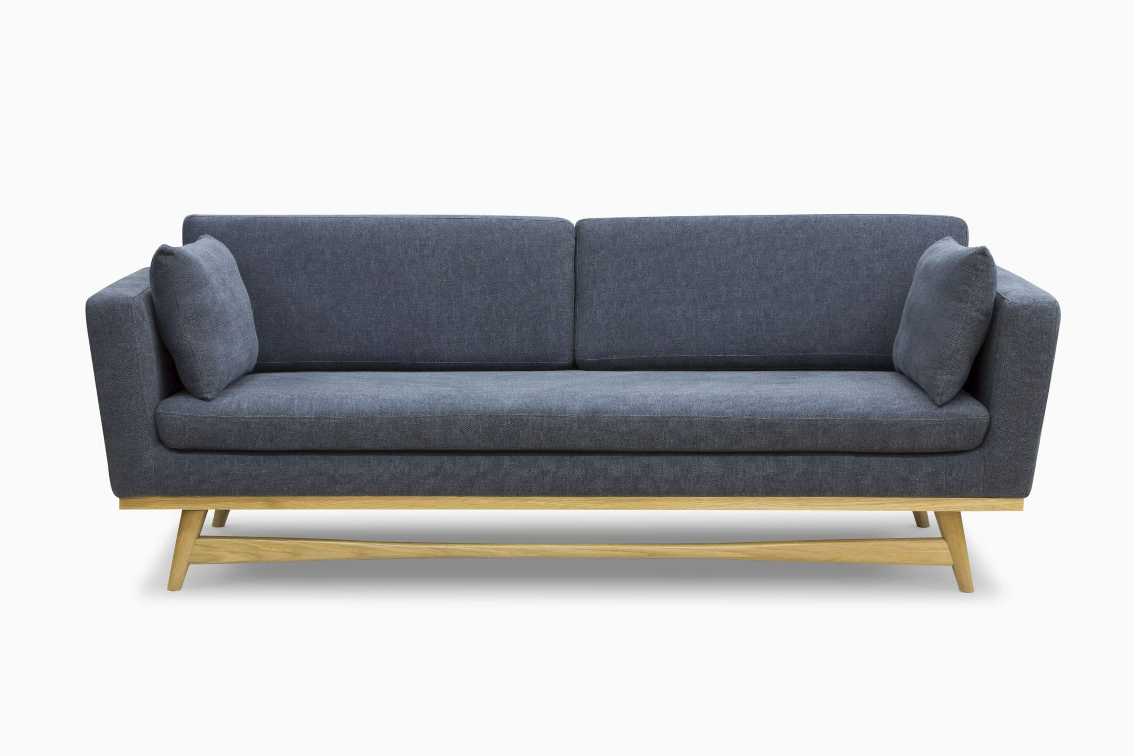 Scandinavian design sofa / solid wood / fabric / 3-seater - CANAPE ...