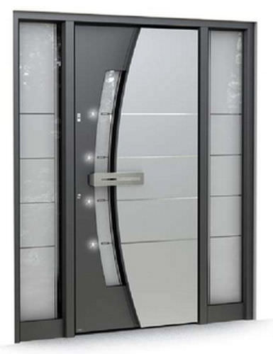 Entry door / swing / glass / security - MULTILEVEL: 510 - Pirnar