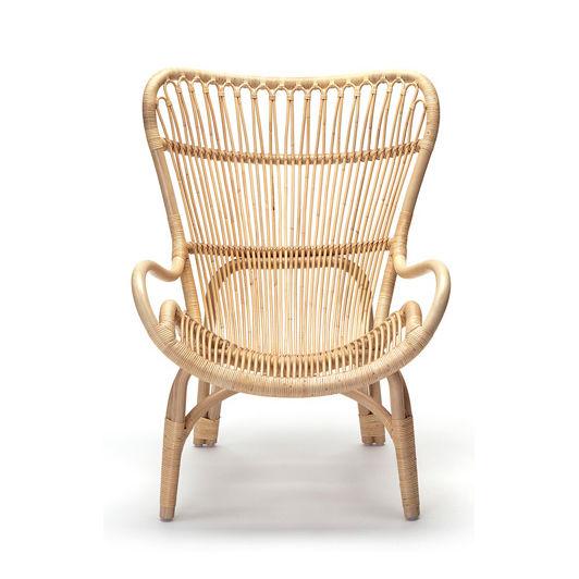 Contemporary Visitor Armchair / Rattan / High Back   C110 HIGHBACK By  Yuzuru Yamakawa