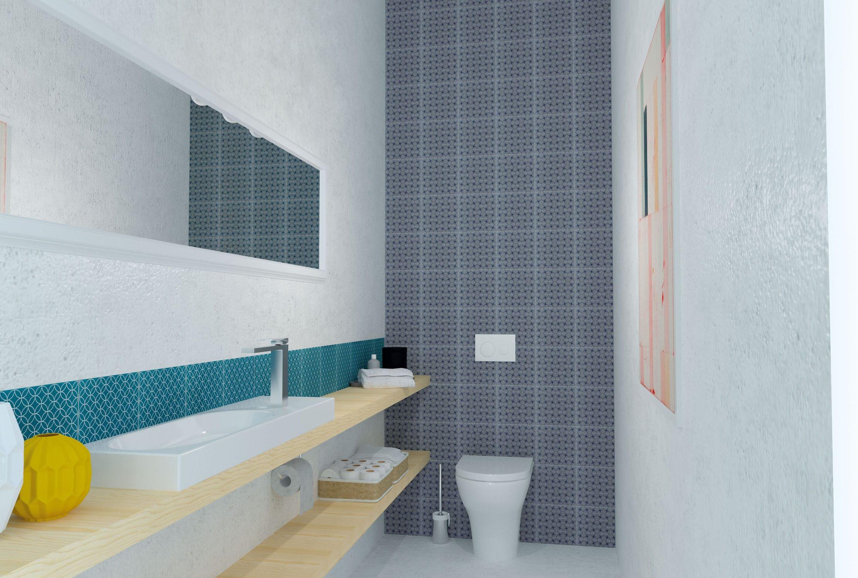 Indoor tile / wall / porcelain stoneware / square - TERRA MIA ...