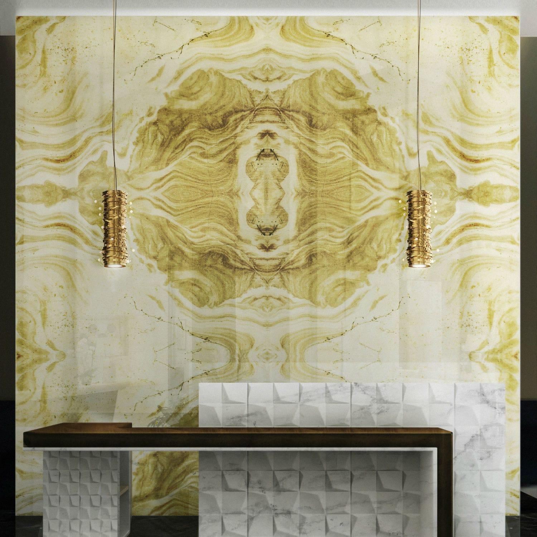 Aluminium decorative panel / wall-mounted / bathroom / smooth ...