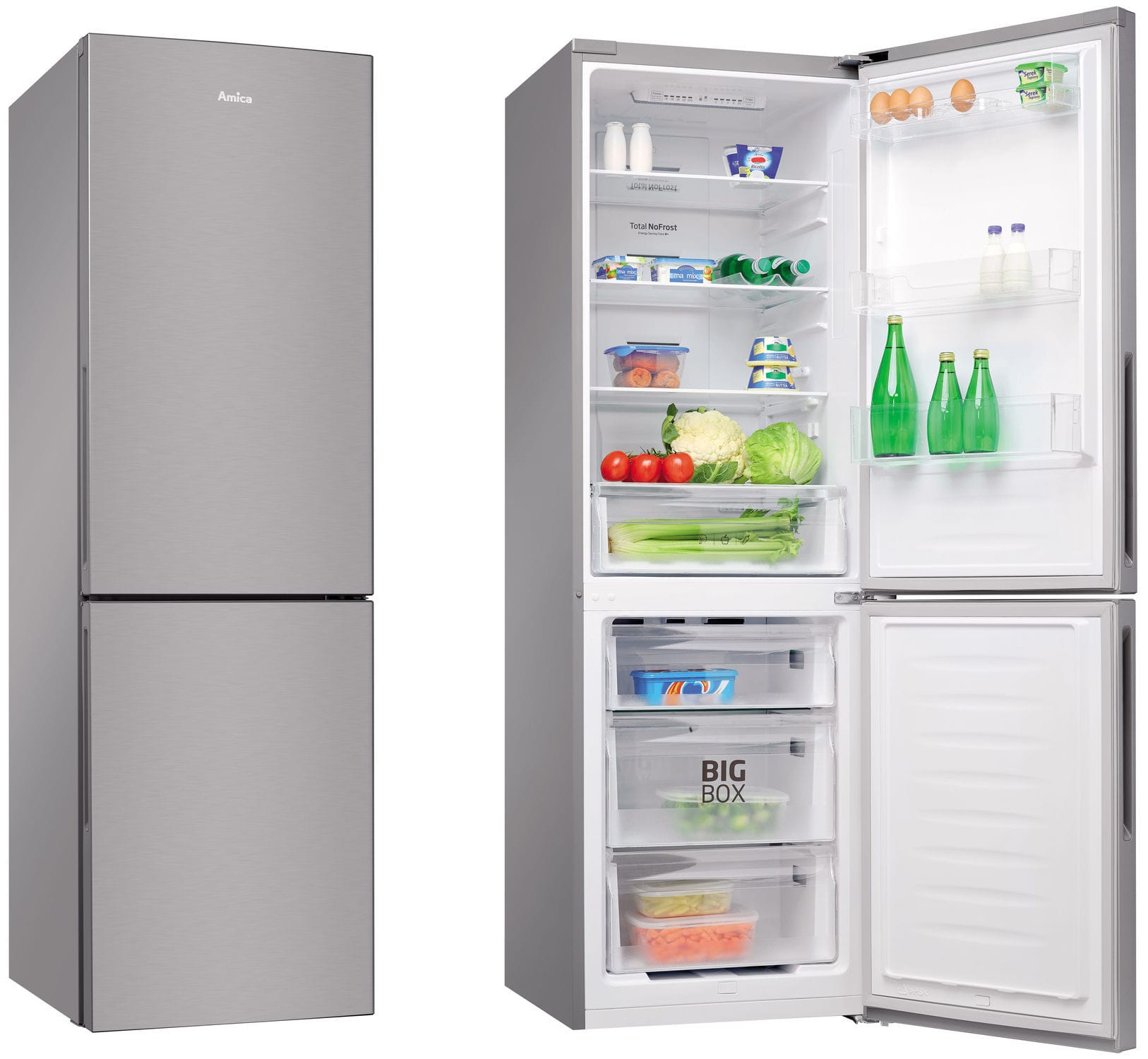 Residential Refrigerator Freezer / Double Door / Bottom Freezer   FK332.4FX