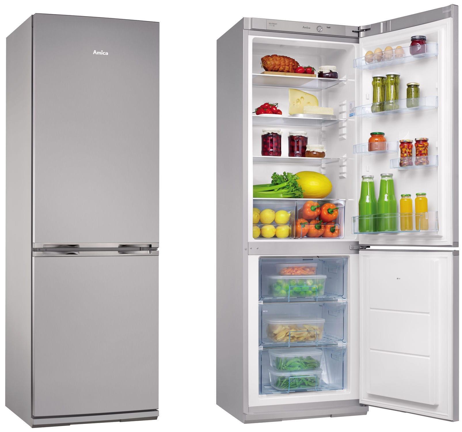 Superbe Residential Refrigerator Freezer / Double Door / Bottom Freezer   FK328.4FX