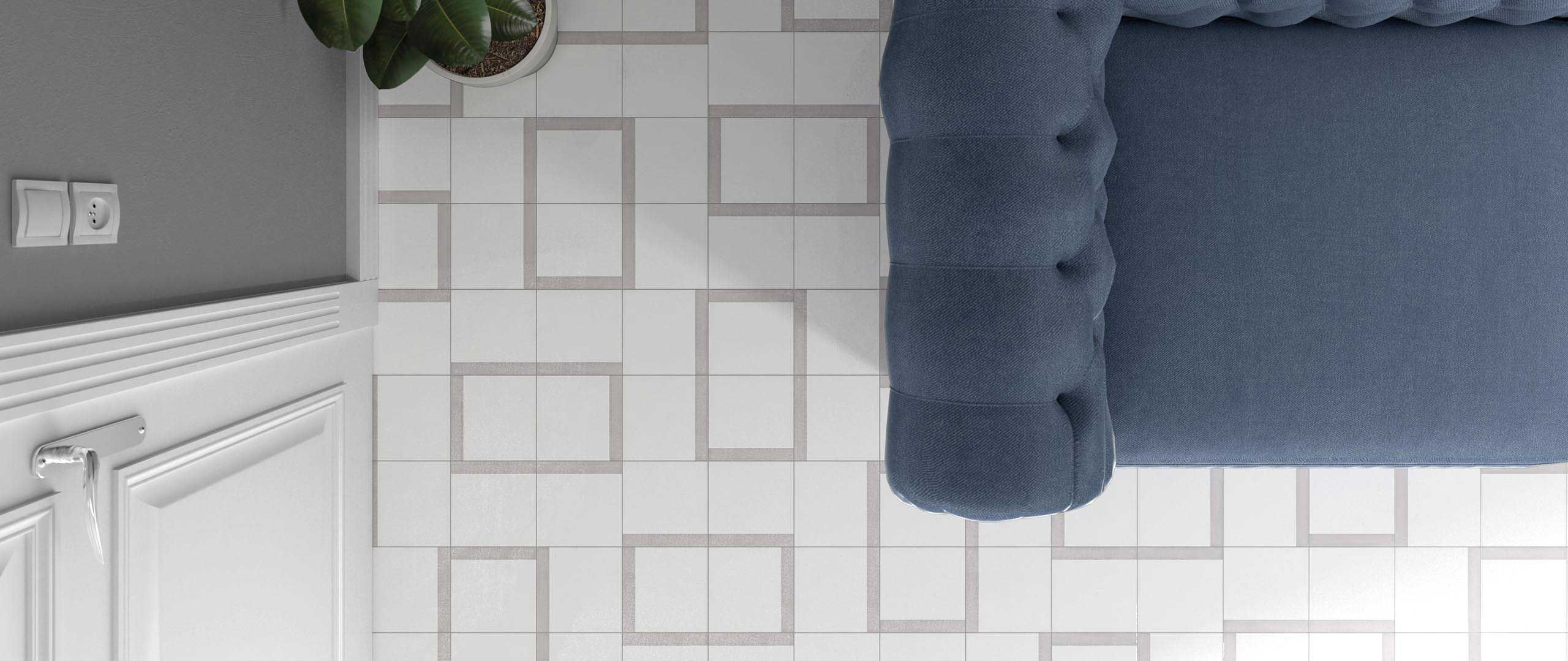 Indoor tile / outdoor / wall / floor - Boreal Band Decor - WOW Design EU