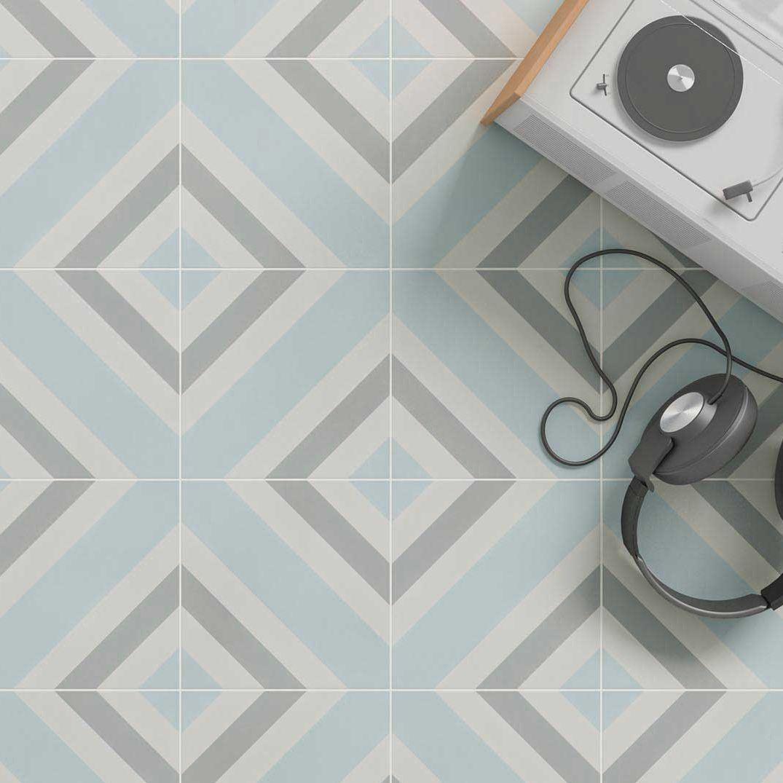 Indoor tile / outdoor / wall / floor - Cement Pattern Decor - WOW ...