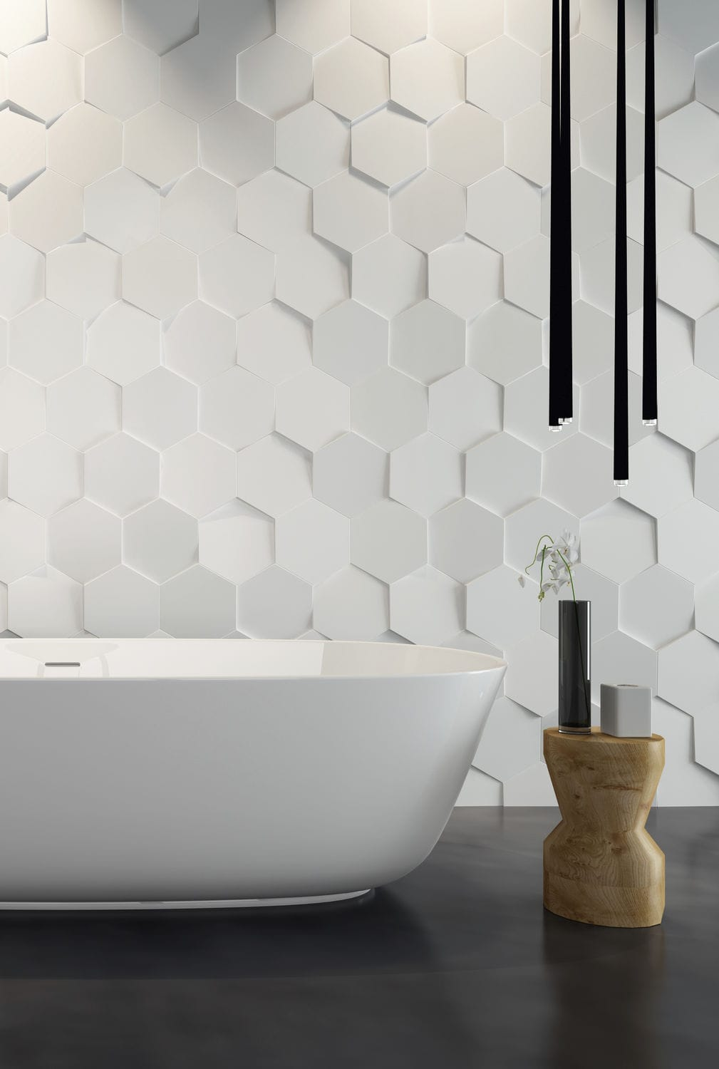 Delicieux Bathroom Tile / Wall / Ceramic / Textured   HEXA