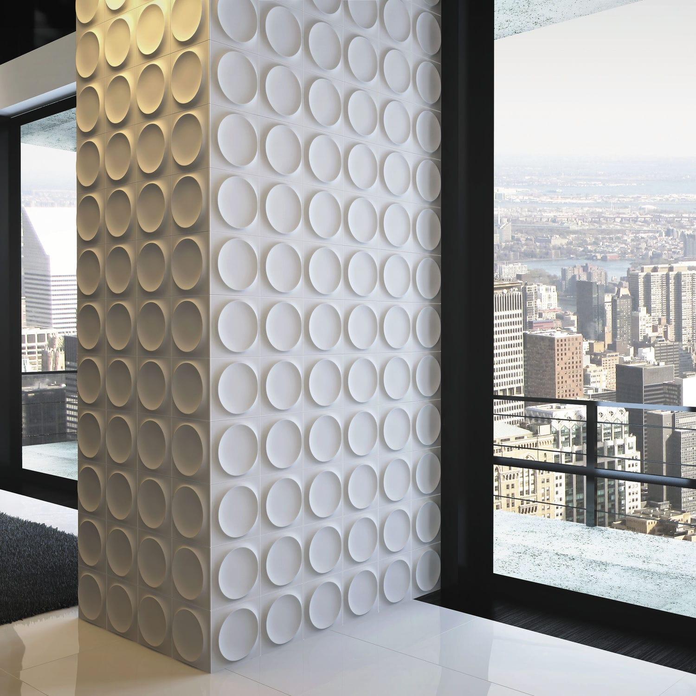 Indoor tile / wall / ceramic / geometric pattern - MOON/MOON L - WOW ...