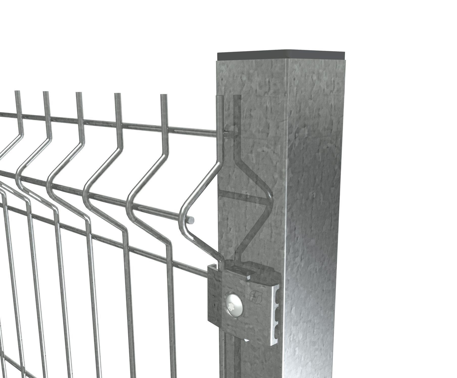 Garden fence / playground / wire mesh / metal - PANNEAU À PLIS ...