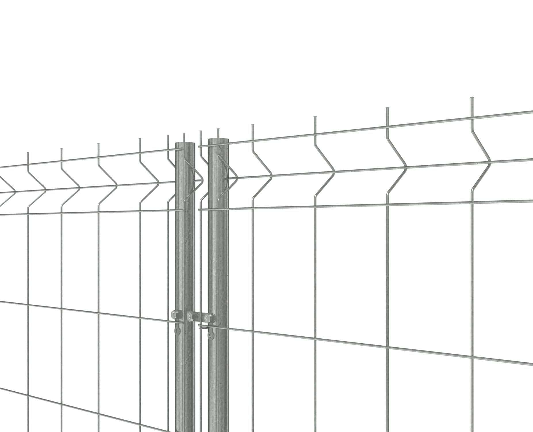 Construction site fence / wire mesh / metal - Indusmetal Torres