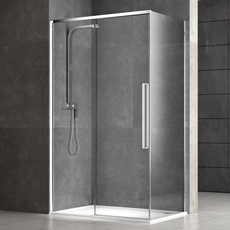 glass shower cubicle curved with hinged door delight usluga glass
