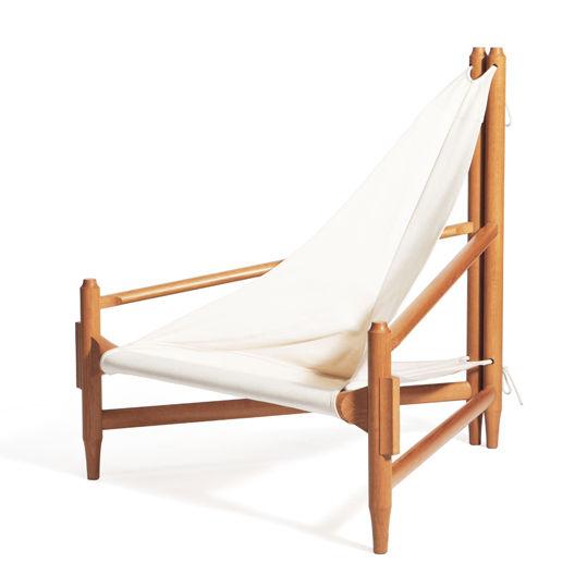 Contemporary chaise longue / fabric / wooden - A VELA - gaffuri