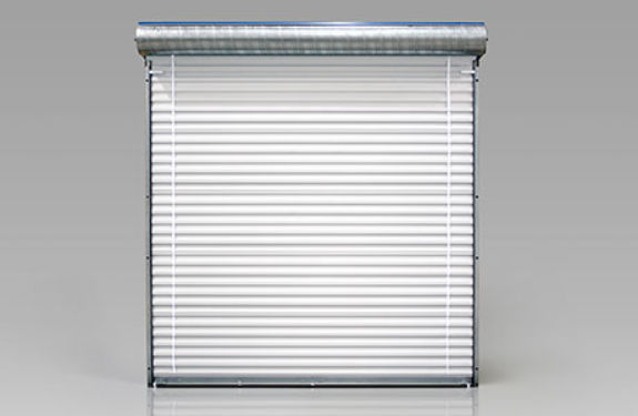Elegant Roll Up Garage Door / Steel / Automatic