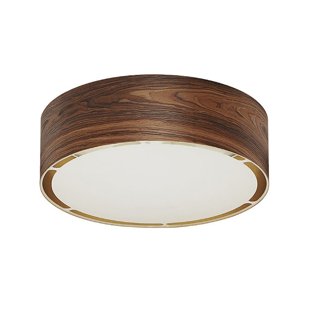 Contemporary ceiling light / round / wooden / LED - BIG ROUND : PF-0594 PP