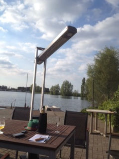 ... Free Standing Infrared Patio Heater / Electric / Portable ...