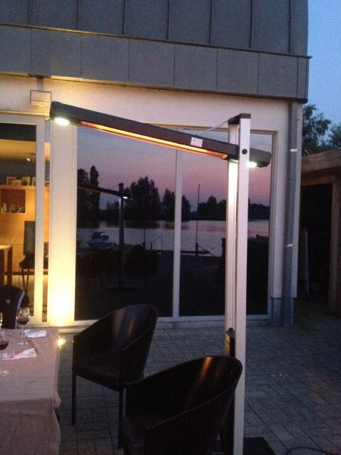 ... Free Standing Infrared Patio Heater / Electric / Portable
