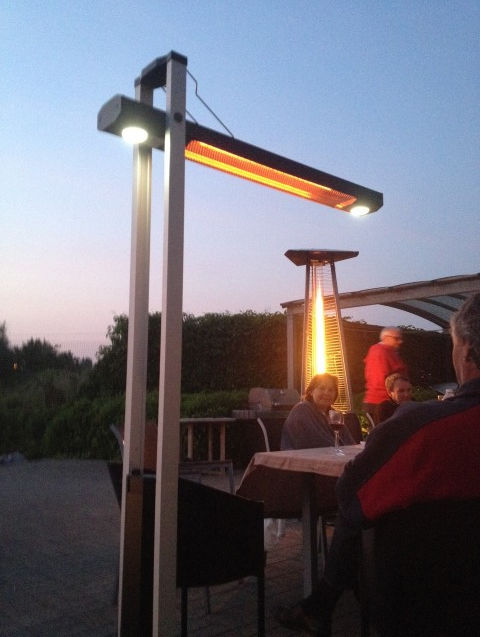 Attractive ... Free Standing Infrared Patio Heater / Electric / Portable BALI Infralia
