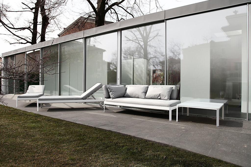 ... Contemporary Sofa / Outdoor / Fabric / Gray PLANE FOR OUT By Luciano  Bertoncini ICARRARO Italian ... Part 55
