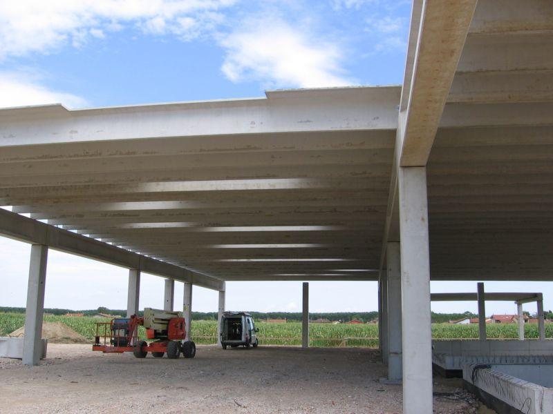 Wonderful Concrete Deck Slab / Prestressed Concrete / Roof / Fireproof FLAT TT Mozzo  Prefabbricati ...