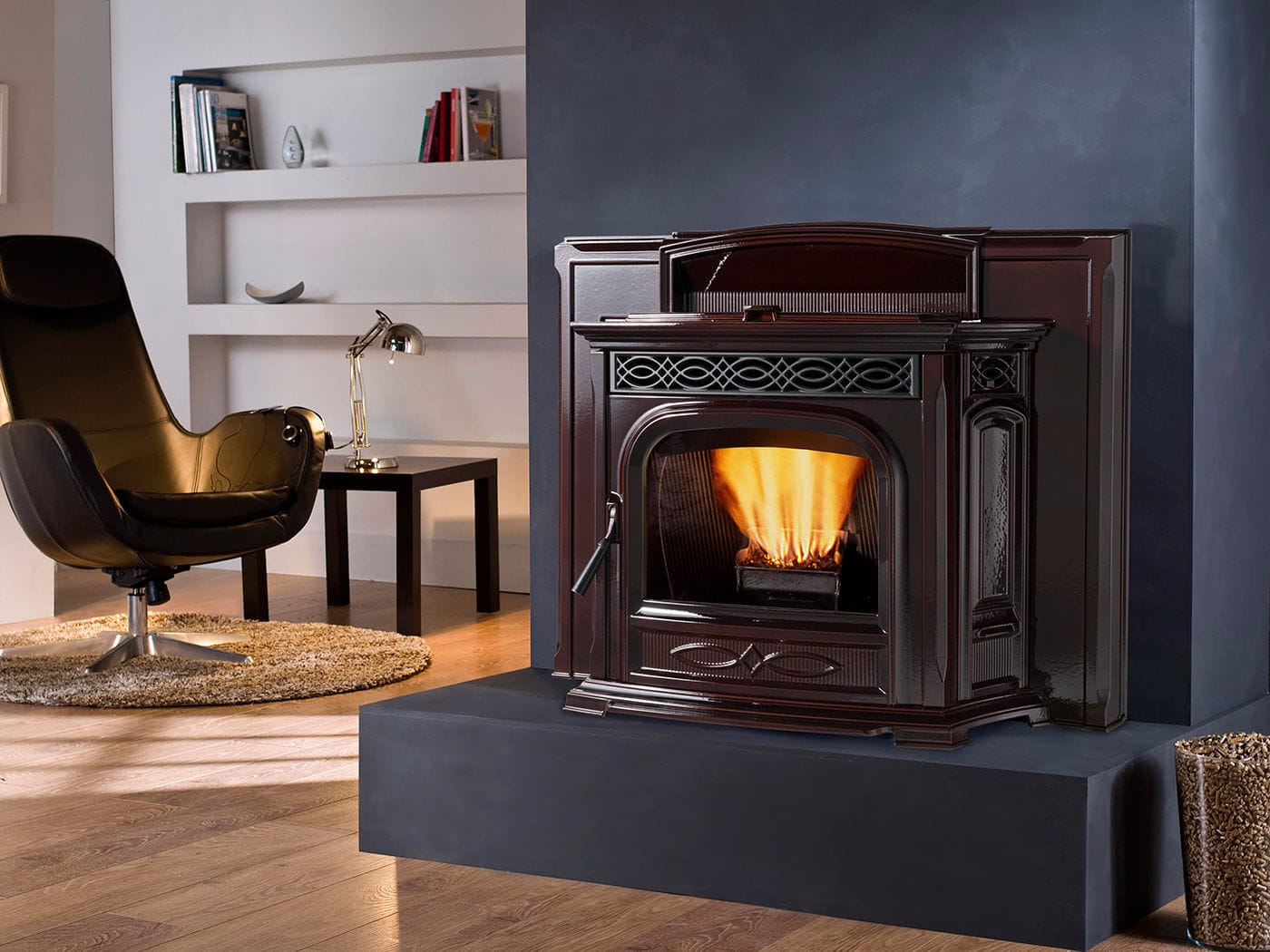 pellet fireplace insert accentra 52i harman stoves videos