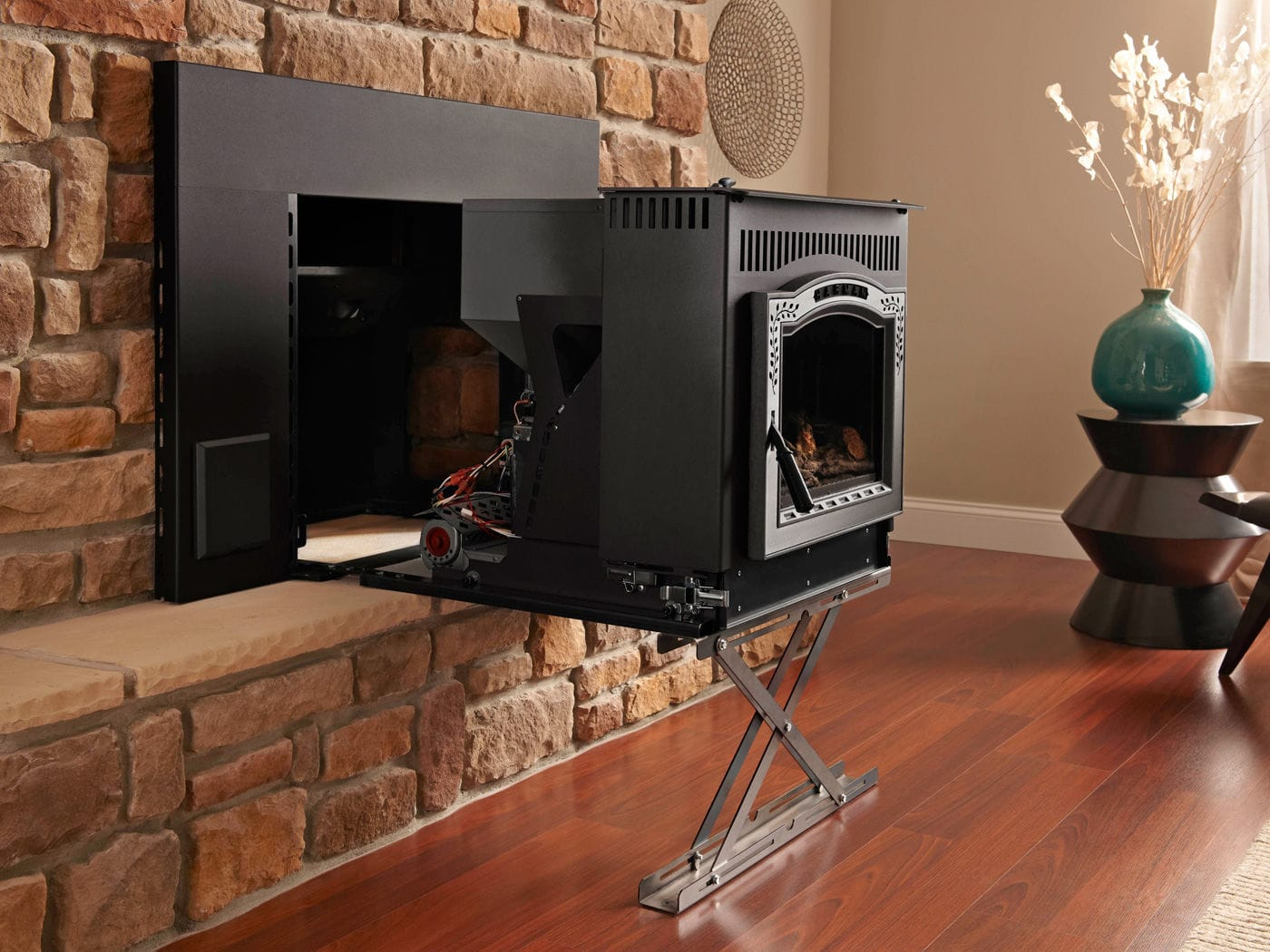 pellet fireplace insert p35i harman stoves videos