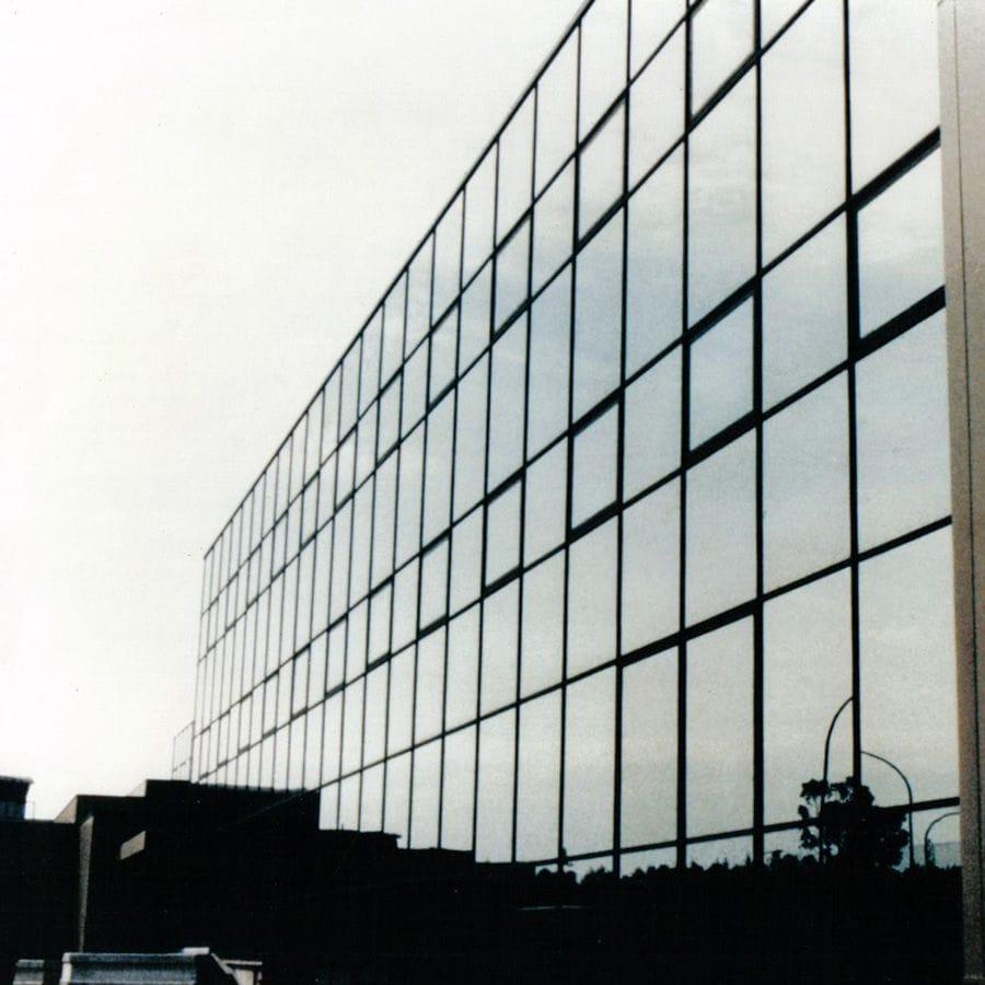 Aluminum Curtain Wall Design : Stick system curtain wall aluminum glass mullions transoms
