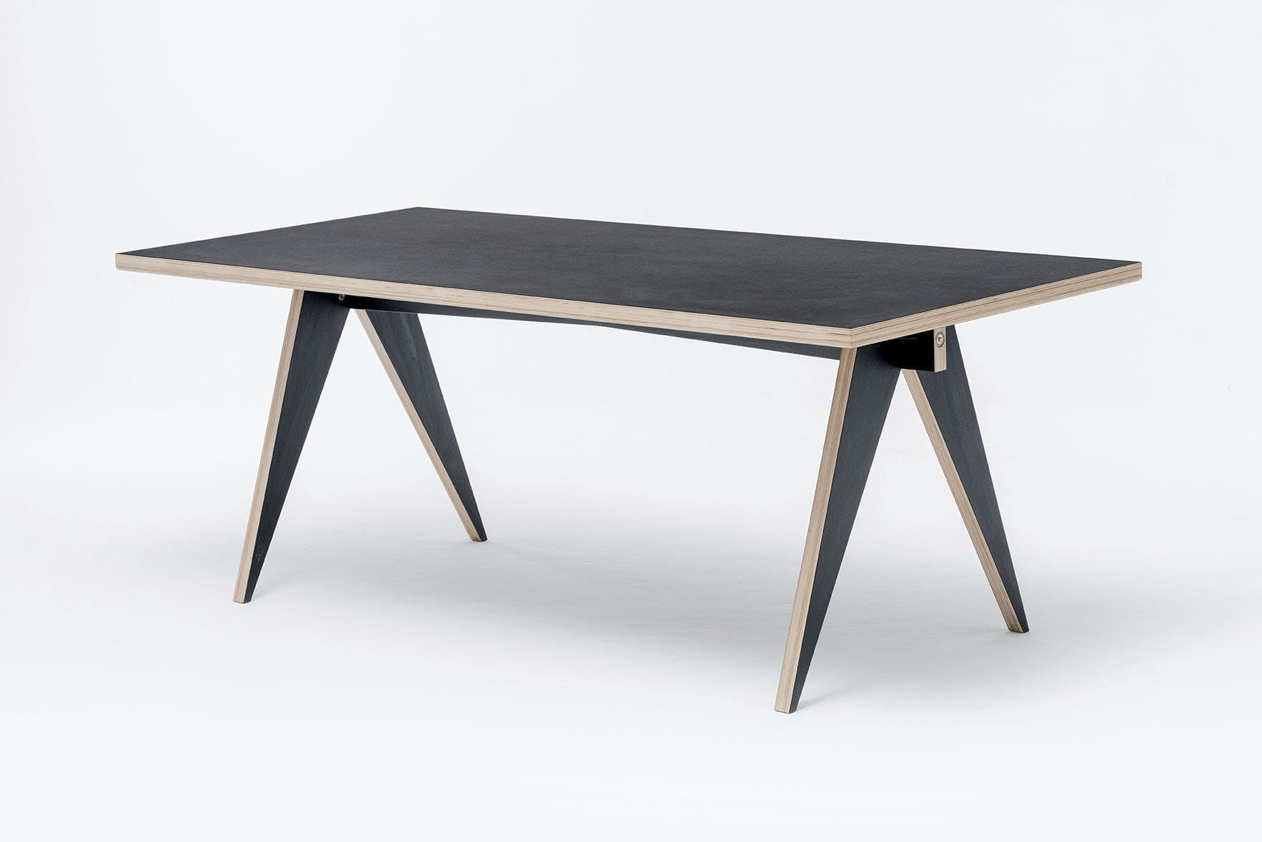... Contemporary Table / Birch / Plywood / HPL ...