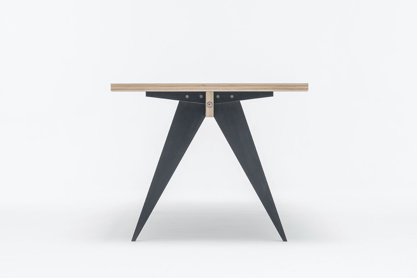 ... Contemporary Table / Birch / Plywood / HPL