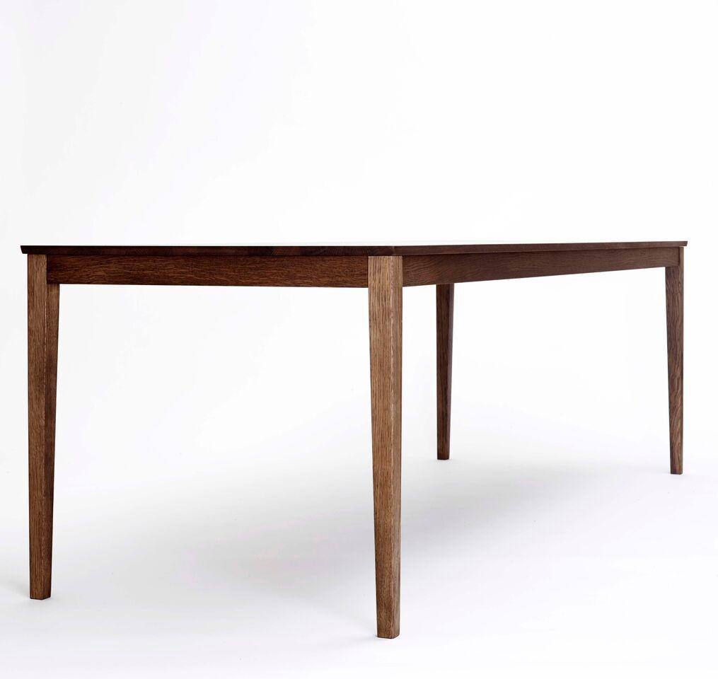 Scandinavian design dining table / oak / rectangular - SIBAST No 2 ...