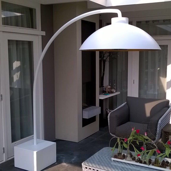 Floor Mounted Infrared Patio Heater / Electric   DOME®
