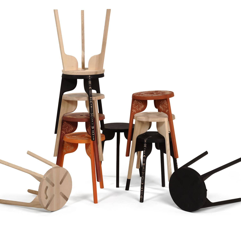 of online stackable stool yellow tidyhomz set indus buy stools