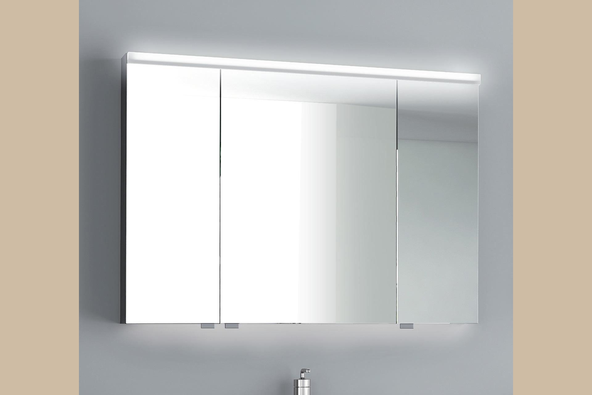 Mirrored bathroom wall cabinet - IRIS - ISA BAGNO