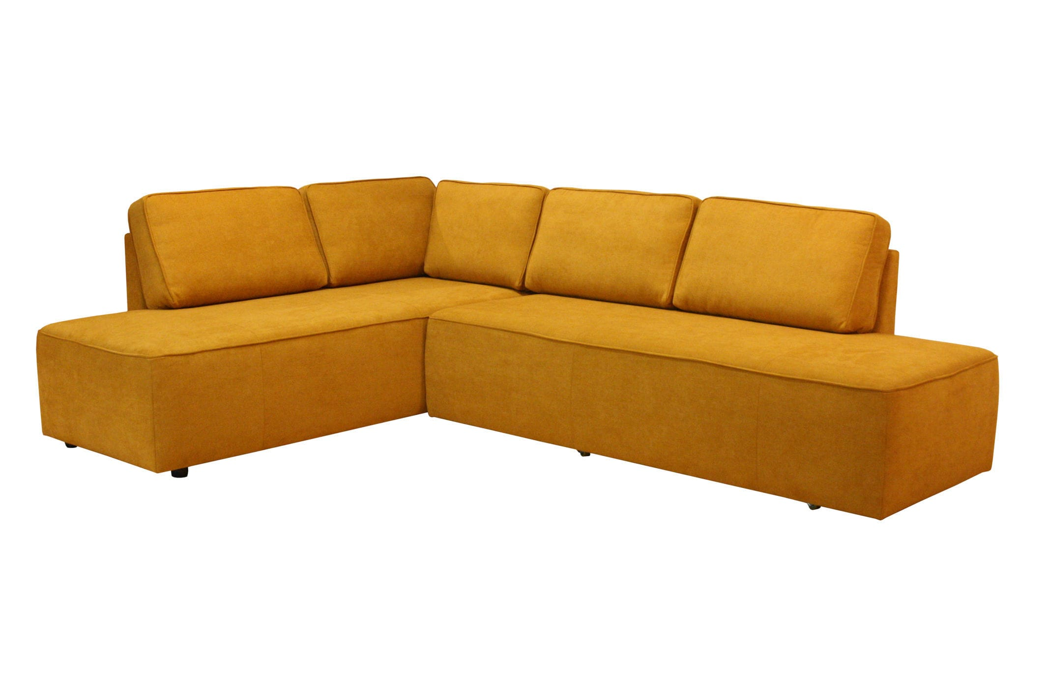 Sofa bed / corner / contemporary / leather - NEW YORK - Luonto furniture
