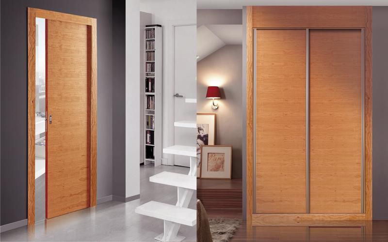 Indoor door / sliding / wooden / flush - HORIZONTAL MODEL CHERRY & Indoor door / sliding / wooden / flush - HORIZONTAL MODEL CHERRY ... Pezcame.Com