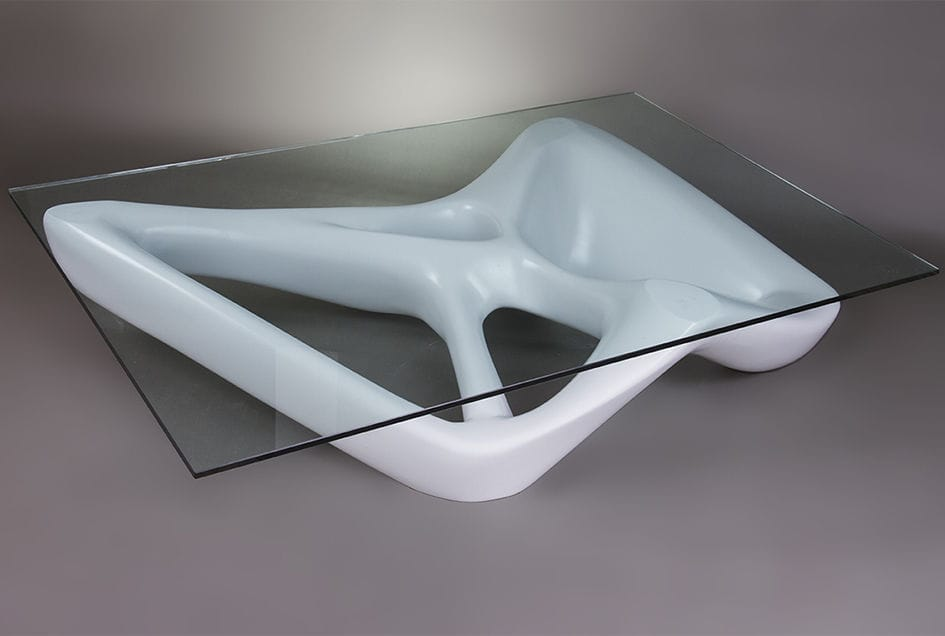 organic furniture design. Organic Design Coffee Table / Glass MDF Rectangular - NET Furniture