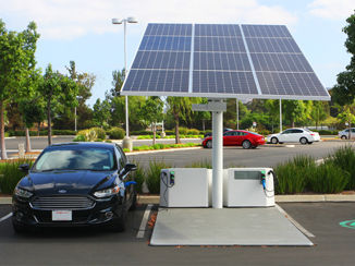 Electric Vehicle Charging Station Solar