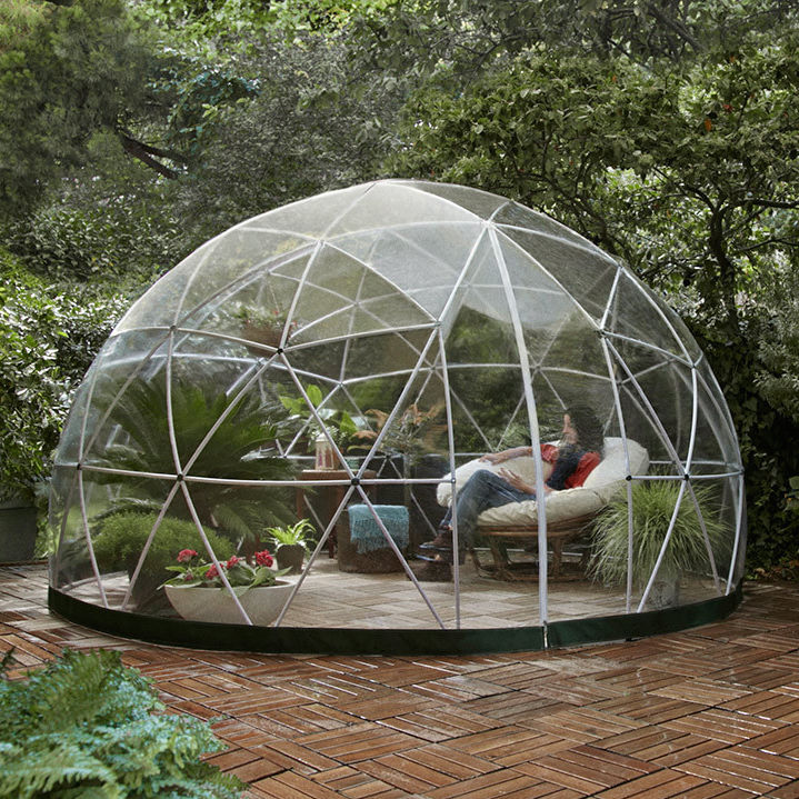 PVC Garden Igloo / Contemporary / Home / 100% Recyclable   360