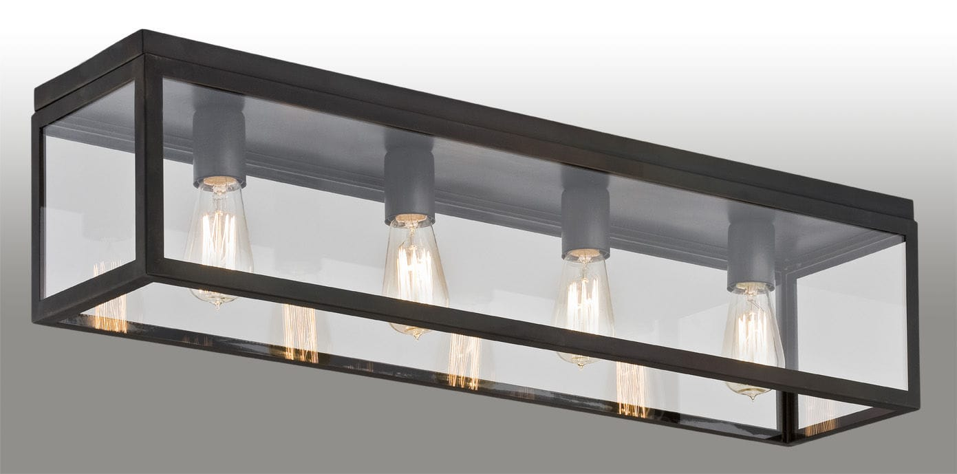 Contemporary ceiling light rectangular metal led loft kaspa contemporary ceiling light rectangular metal led mozeypictures Image collections