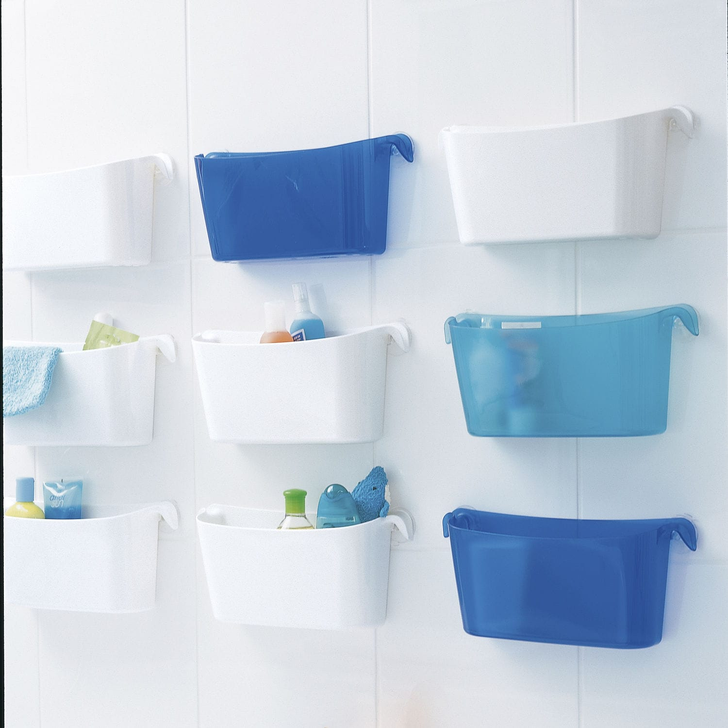 Shower basket - BOKS - Koziol