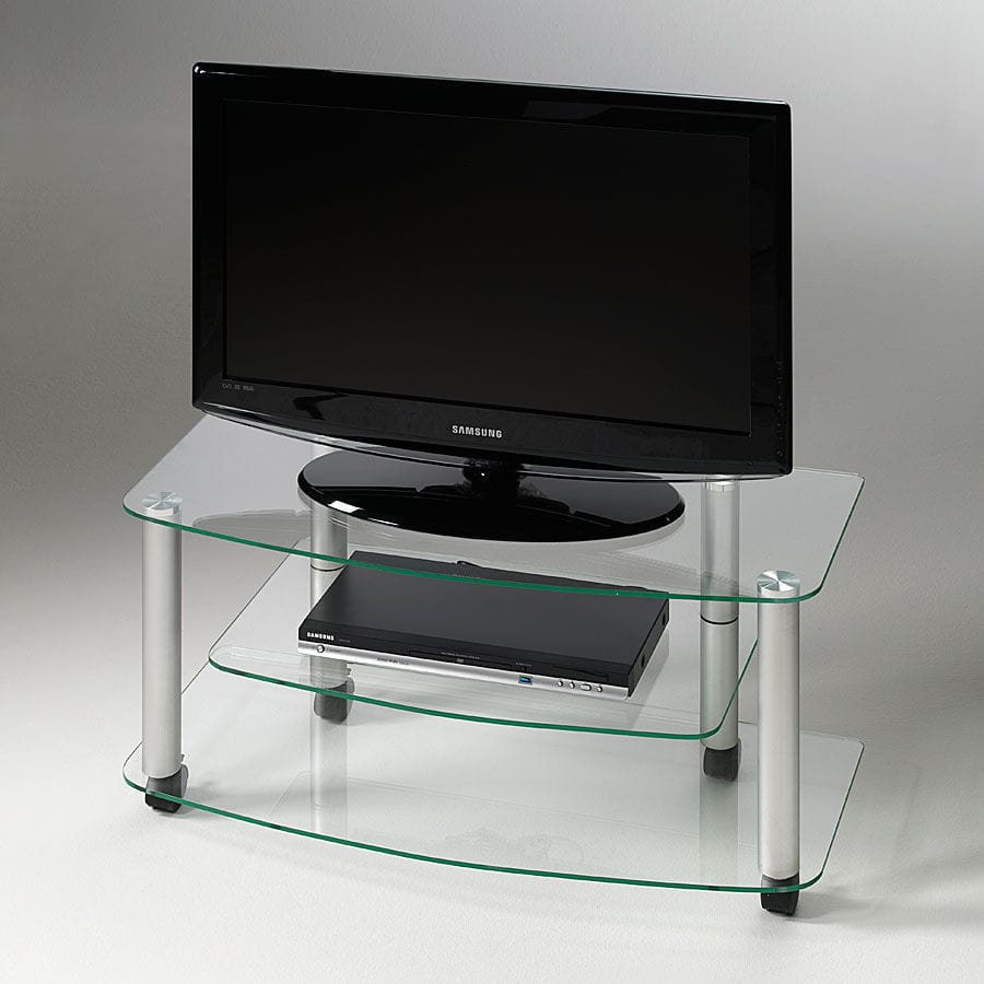 Muebles Pezzani - Contemporary Tv Cabinet Glass Aluminum Pforyou Millenium [mjhdah]http://img.archiexpo.com/images_ae/photo-g/149642-9442824.jpg