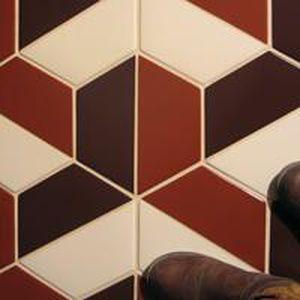 Indoor tile / outdoor / floor / wall - HALF HEX - QUARRY TILE COMPANY