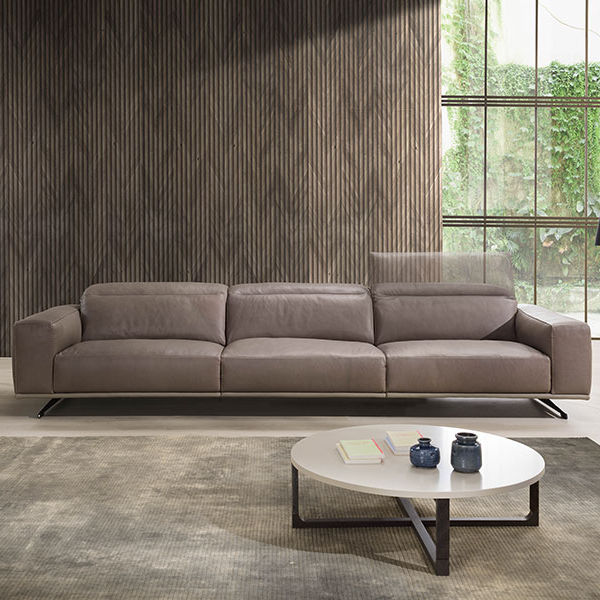 Contemporary Sofa / Fabric / Leather / 3 Seater   CHLOE