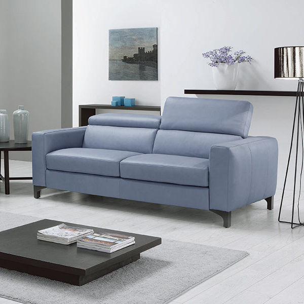 Sofa Bed Contemporary Fabric Leather Madelyn