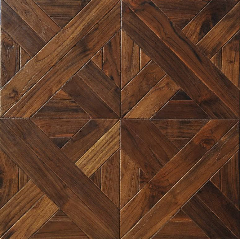 Engineered parquet flooring / nailed / floating / glued - SQUARE GRAND  PALAIS OLD STYLE: WHITE OAK - Engineered Parquet Flooring / Nailed / Floating / Glued - SQUARE